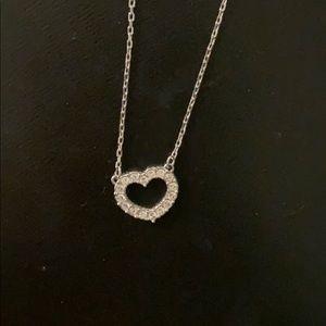 Swavorski Heart Necklace